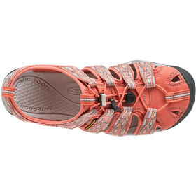 Keen Clearwater CNX Chaussures Femme, Fusion Coral/Vapor